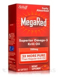 MegaRed Superior Omega-3 Krill Oil 350 mg - 60 Softgels