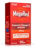 MegaRed Superior Omega-3 Krill Oil 350 mg - 30 Softgels