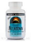 Melatonin 1 mg - 200 Vegetarian Capsules