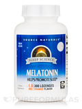 Melatonin 1 mg, Orange Flavor - 300 Lozenges