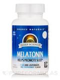 Sleep Science™ - Melatonin 1.0 mg, Peppermint Flavor - 300 Lozenges