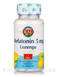 Melatonin 5 mg Lozenge, Natural Lemon Flavor - 60 Lozenges