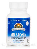 Melatonin 5 mg Sublingual Peppermint 50 Tablets