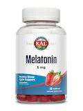 Melatonin 5mg, Strawberry Flavor - 60 Gummies