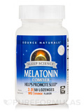 Melatonin Complex Sublingual Orange - 50 Tablets