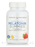 Zero Sugar Melatonin Gummies 1.5 mg, Raspberry Flavor - 120 Gummies