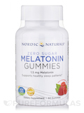 Zero Sugar Melatonin Gummies 1.5 mg, Raspberry Flavor - 60 Gummies