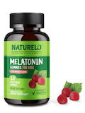 Melatonin Gummies for Kids, Strawberry Flavor - 60 Vegetarian Gummies