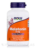 Melatonin (High Potency) 5 mg - 180 Vegetarian Capsules