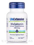 Melatonin Timed Release 300 mcg - 100 Vegetarian Tablets