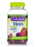Men's Multivitamin Gummy, Natural Fruit Flavors - 150 Gummies