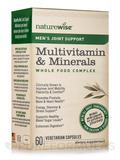Men's Joint Support Multivitamin & Minerals Whole Food Complex - 60 Vegetarian Capsules