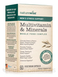 Men's Stress Support Multivitamin & Minerals Whole Food Complex - 60 Vegetarian Capsules