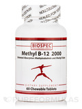 Methyl B-12 2000 - 60 Chewable Tablets