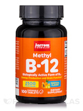 Methyl B-12 2500 mcg, Tropical Flavor - 100 Lozenges