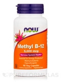 Methyl B-12 5000 mcg - 90 Veg Capsules