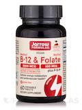 Methyl B-12 5000 mcg & Methyl Folate 800 mcg + P-5-P (B6), Cherry Flavor - 60 Lozenges