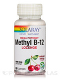 Methyl B-12, Natural Cherry Flavor - 60 Lozenges