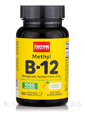 Methyl B-12 1000 mcg Lemon Flavor - 100 Lozenges