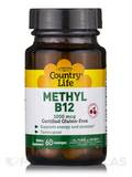 Methyl B12 1000 mcg (Cherry Flavor) - 60 Lozenges