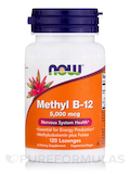 Methyl B-12 5000 mcg - 120 Lozenges