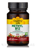 Methyl B12 5000 mcg (Cherry Flavor) - 60 Lozenges