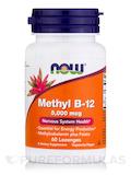 Methyl B-12 5000 mcg - 60 Lozenges