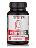 Methyl B12 5000 mcg, Natural Cherry Flavor - 60 Micro Lozenges