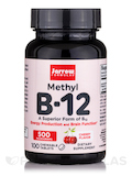 Methyl B12 (Methylcobalamin) 500 mcg - 100 Lozenges