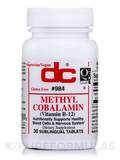 Methylcobalamin - 30 Sublingual Tablets