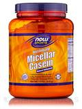 NOW® Sports - Micellar Casein Natural Unflavored - 1.8 lbs (816 Grams)