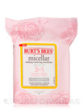 Micellar Makeup Removing Towelettes with Rose Water 3 in 1 - 30 Pre-Moistened Towelettes
