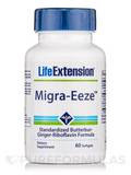Migra-Eeze Standardized Butterbur-Ginger-Riboflavin Formula 60 Softgels