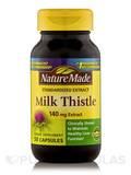 Milk Thistle Extract 140 mg 50 Capsules
