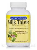 Milk Thistle Seed Standardized 120 Vegetarian Capsules