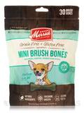 Mini Brush Dental Bones for Dogs 5-15 lbs (Grain Free + Gluten Free) - 10 oz (283 Grams)