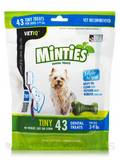 Minties® Dental Treats for Dogs (3-9 lbs) - 43 Tiny Treats (12 oz / 340 Grams)