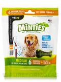 Minties® Dental Treats for Dogs (20-39 lbs) - 6 Medium Treats (6 oz / 170 Grams)