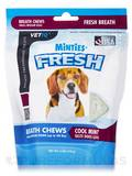 Minties® Fresh - Cool Mint Breath Chews for Small-Medium Dogs (up to 40 lbs) - 6 oz (170 Grams)