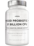 Mood Probiotic + 51 Billion CFU - 60 Vegetarian Capsules