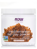 NOW® Solutions - Moroccan Red Clay Powder - 6 oz (170 Grams)