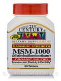 MSM 1000 mg 90 Tablets