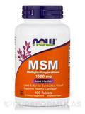 MSM 1500 mg - 100 Tablets