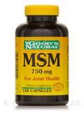 MSM 750 mg 120 Capsules