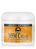 MSM Cream - 4 oz (113.4 Grams)