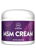 MSM Cream 4 oz