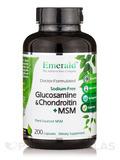 Glucosamine & Chondroitin + MSM (Sodium-Free) - 200 Capsules