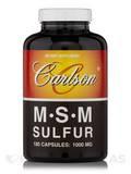 MSM Sulfur 1000 mg 180 Capsules