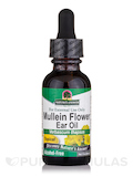 Mullein Flower Ear Oil Extract (Topical Formula) - 1 fl. oz (30 ml)