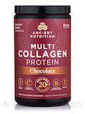 Multi Collagen Protein Powder, Chocolate Flavor - 18.5 oz (524 Grams)